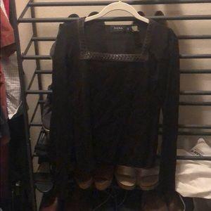 Chocolate brown DANA Buchman shirt